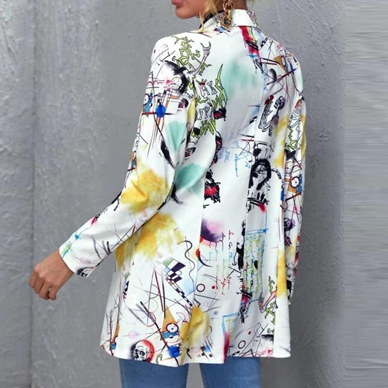 Hd53024a78f92420d8a12017196dcc1bea Fashion Trend Women Lapel Leopard Print Long Sleeves Suit Jacket Elegant Fall Winter Office Lady Cardigan Coat Casual Streetwear