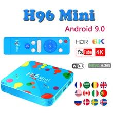 Netherlands Top-Box Google-Player H96 MINI Android 9.0 TV Box Allwinner H6 Quad Core Smart TV Box 6K H.265 Wifi Bluetooth TV BOX стоимость
