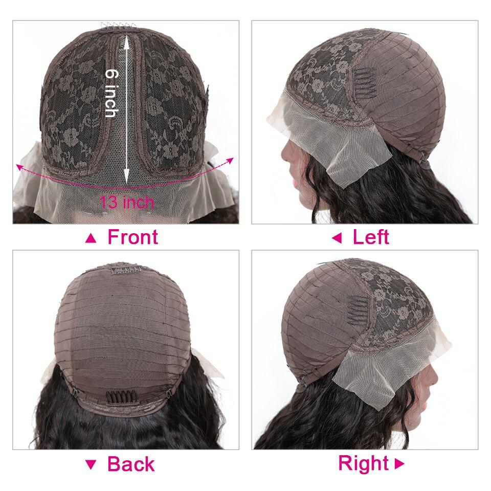 """YYong 1x6 Topline Lace Loose Deep HD Transparent Lace Part  Wigs    Wig 6"""" Deep Part Lace Wigs 4"""