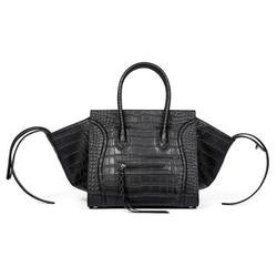 Nuevo y popular diseñador marca de lujo bolsos de cuero para mujer moda sonrisa cara Tote calidad Trapeze Smiley embragues Bolsa Feminina