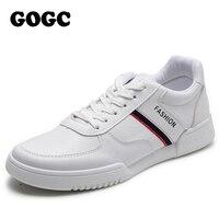 2020 printemps nouveaux hommes chaussures décontractées vêtements respirants résistant chaussures confortable été blanc bout rond à lacets plat Snekaers