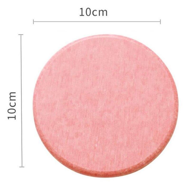 Diatom Mud Coaster Бытовая диатомовая земля умывальник посуда для напитков аксессуары для бусин квадратный круглый водонепроницаемый абсорбирующий Coaster - Цвет: B1