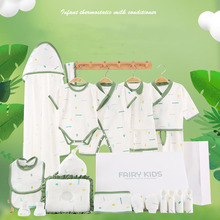 Newborn Clothes Summer New Kids Combed Cotton Breathable Baby Girl boy Lovely Printing Comfortable Set Without Box XB151