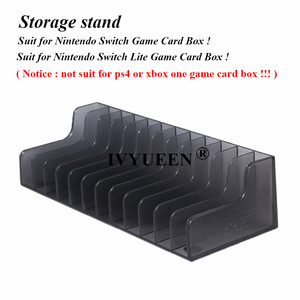 Image 2 - IVYUEEN 1 pcs for Nintend Switch NS Console Game Card Box Storage Stand Holder for NintendoSwitch Lite Disks Card Holder Stand