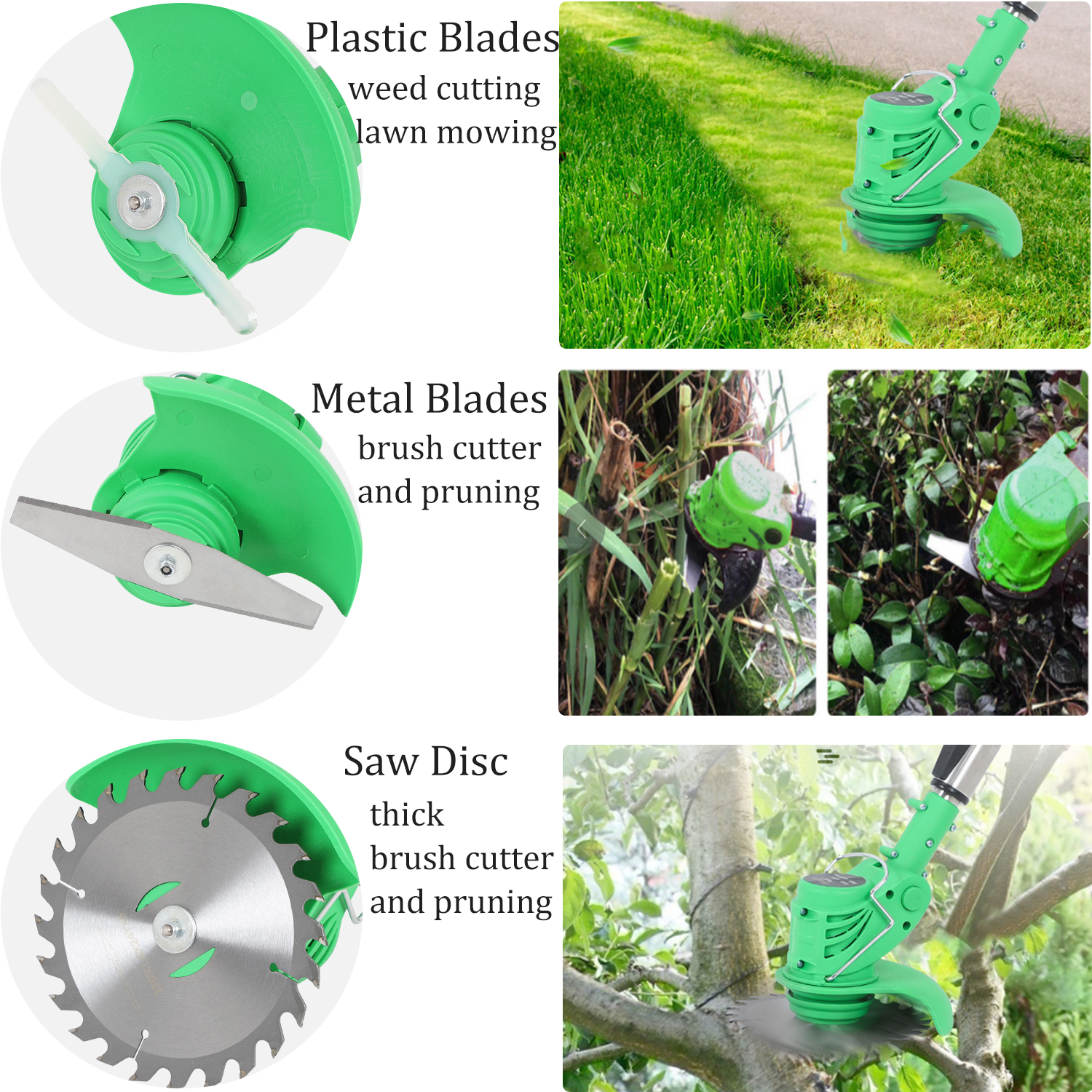 Grass Ion Weed Brush Garden 3000mAh 21V Brush Trimmer Lithium Grass Kit Cutter Edger Cutter Mower Lawn Tools Cordless Electric