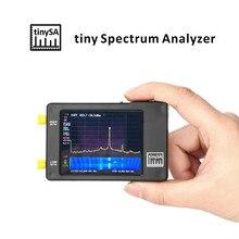 Analisador de espectro à mão tinysa 2.8 Polegada 100khz a 960mhz analisador de espectro preto analizzatore di spettro swr medidor