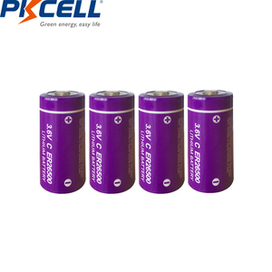 Image 2 - 20Pcs/PKCELL 3.6V C גודל ליתיום סוללה ER26500 9000Mah Li SOCl2 סוללה