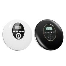 Round Style Portable  CD Player Headphone HiFi Music Reproductor  CD Walkman Discman Player Shockproof Lecteur  CD