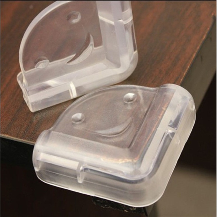 Infants Safe Supplies Corner Protector Protection Sleeve Transparent Spherical Bumper Table Corner Protector Baby Thick With Glu