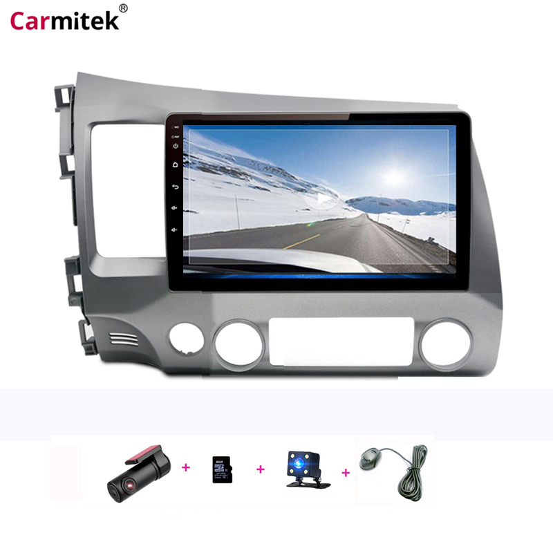 Double Din Android Car Multimedia Player GPS Radio 2din For Honda Civic 2006 2007 2008 2009-2011 Stereo Navigation Head Unit