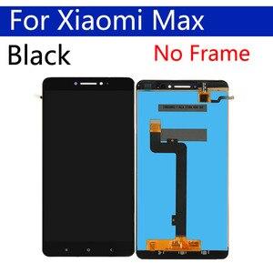 Image 4 - Оригинальный ЖК дисплей 6,44 дюйма для Xiaomi Max, дигитайзер сенсорного экрана с рамкой, сменный дисплей в сборе для Xiaomi Max 1