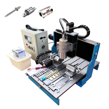 LY CNC 6040L CNC Router Linear Guide Rail Wood Metal Aluminum Milling Engraving Machine Offline DSP Control Steel Table 2