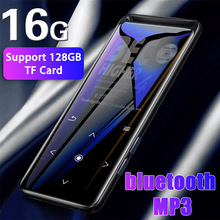 16GB bluetooth MP3 Player Earphones HiFi fm Radio mini USB
