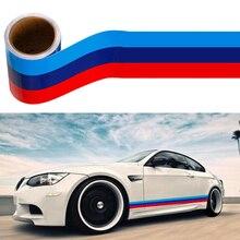 Hot sale!Auto 3M Sticker For BMW E46 E52 E53 E60 E90 E91 E92 E93 F30 F20 F10 F15 F13 M3 M5 M6 X1 X3 X5 X6 E39 E36 E30 E34 M3 Z4 for bmw e90 e92 e93 f20 f21 f30 f31 f32 f33 f34 f15 f10 f01 f11 f02 g30 m performance side skirt sill stripe body decals sticker