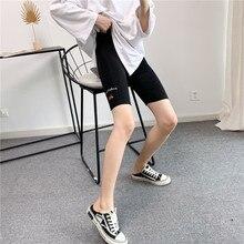 Leggings Embroidery Mickey Sports-Pants Women's New Cartoon Cotton Letter Girl High-Waist