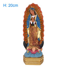Our Lady Of Guadalupe Blessed Saint Virgin Mary Mexico Statue Holy Figurine Catholic Souvenirs Gifts
