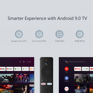 Xiaomi Mi TV Stick глобальная версия Android TV FHD HDR четырехъядерный HDMI 1 ГБ ОЗУ 8 Гб ПЗУ Bluetooth Wifi Netflix Google Assistant