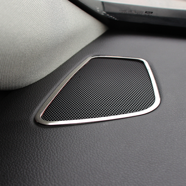 VCiiC New Design! Interior A column control acoustics meshes decorative box For Opel VAUXHALL ASTRA J,Car Accessories