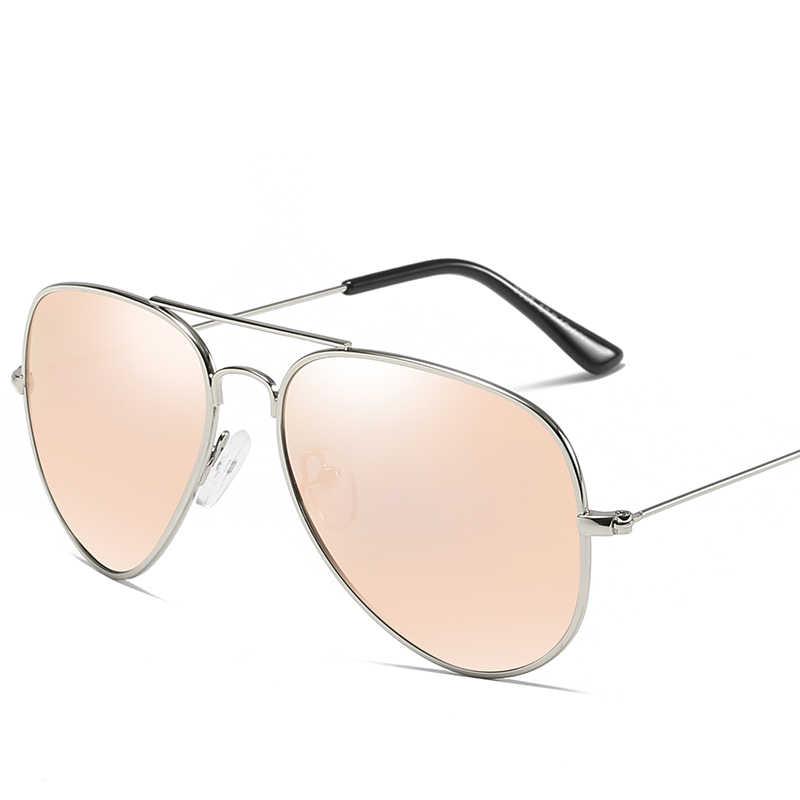 MSETOUTM 2019 okulary mężczyźni i kobiety metalowy kierowca klasyczny olśniewający kolor Retro marka projektant Vintage UV400 okulary 3026