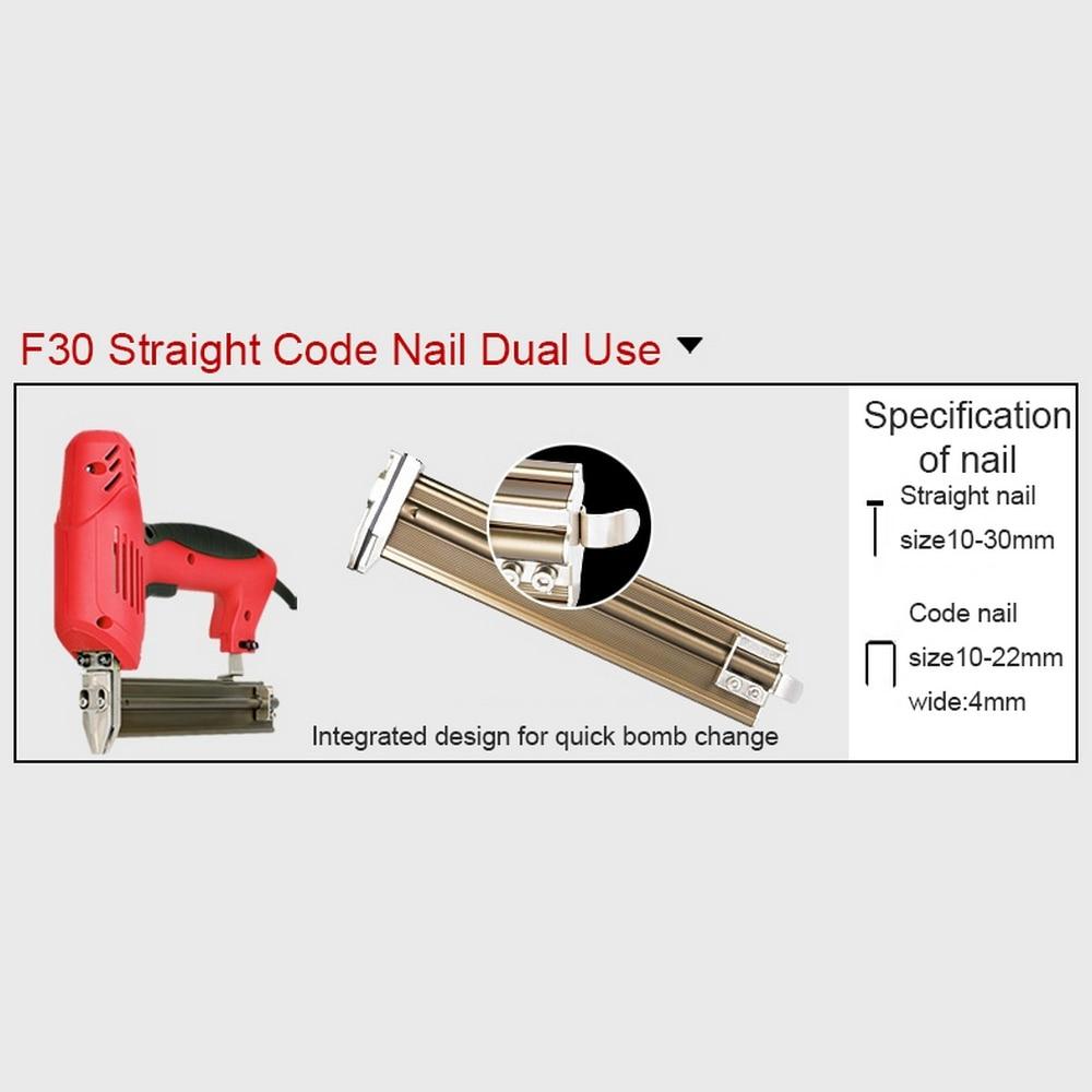nailer elétrica que emoldura o tacker u-shaped