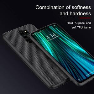 Image 3 - for Redmi Note 8 Pro case carbon fiber cover, original NILLKIN plaid synthetic fiber case for Xiaomi Redmi Note 8 Pro phone