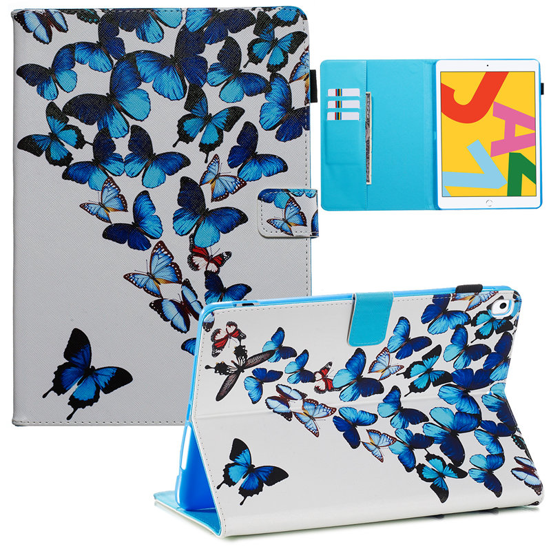 21 Champagne For iPad 10 2 2019 Smart Case for Apple iPad 7th Generation A2200 A2232 Cover Funda