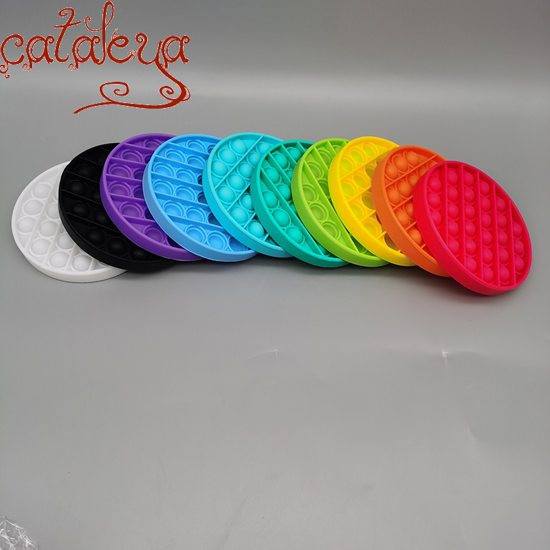 Cateleya Children's Educational  Of Intellectual Foam Pressing Round  fidget toys
