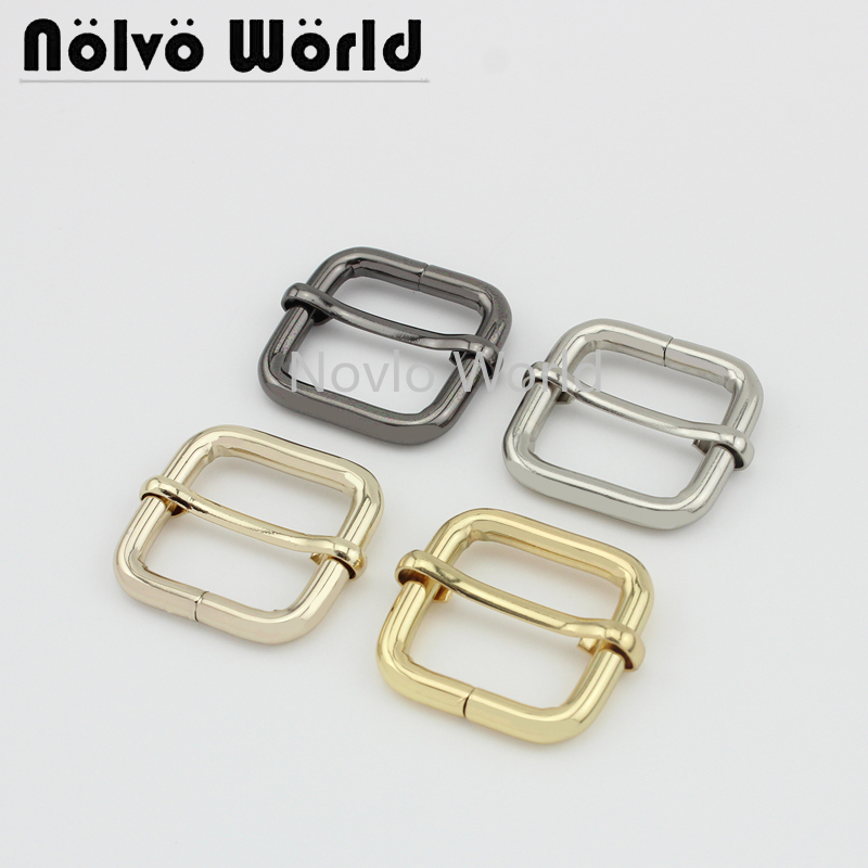 Wholesale 500pcs,inner Width 25*20mm 1 Inch, 5 Colors Accept Mix Color, Metal Pin Buckle Handbags Adjusted Buckle Accessories
