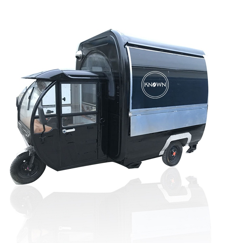KN-220G Mobile Food Carts/trailer/ Ice Cream Truck/snack Food Carts With Power Support Drive On Road