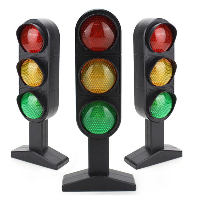 Simulation Traffic Light Educational Toy Imitation Scene Sound Kids Puzzle Toys R7RB