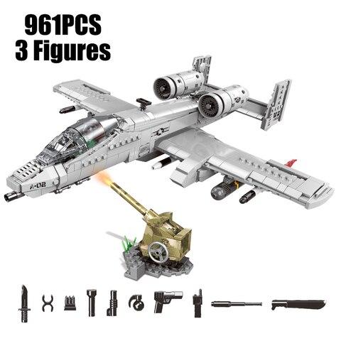 militar conjuntos aviao f 35 ac130 a10 lutador