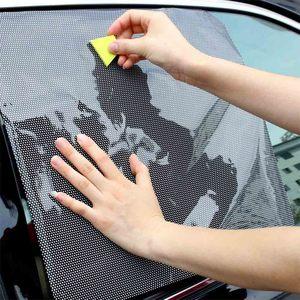 2Pcs DIY Car Sun Shades Film P