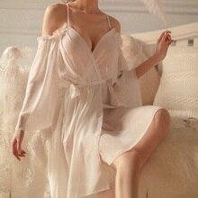 Deep Sleepshirts V Dress