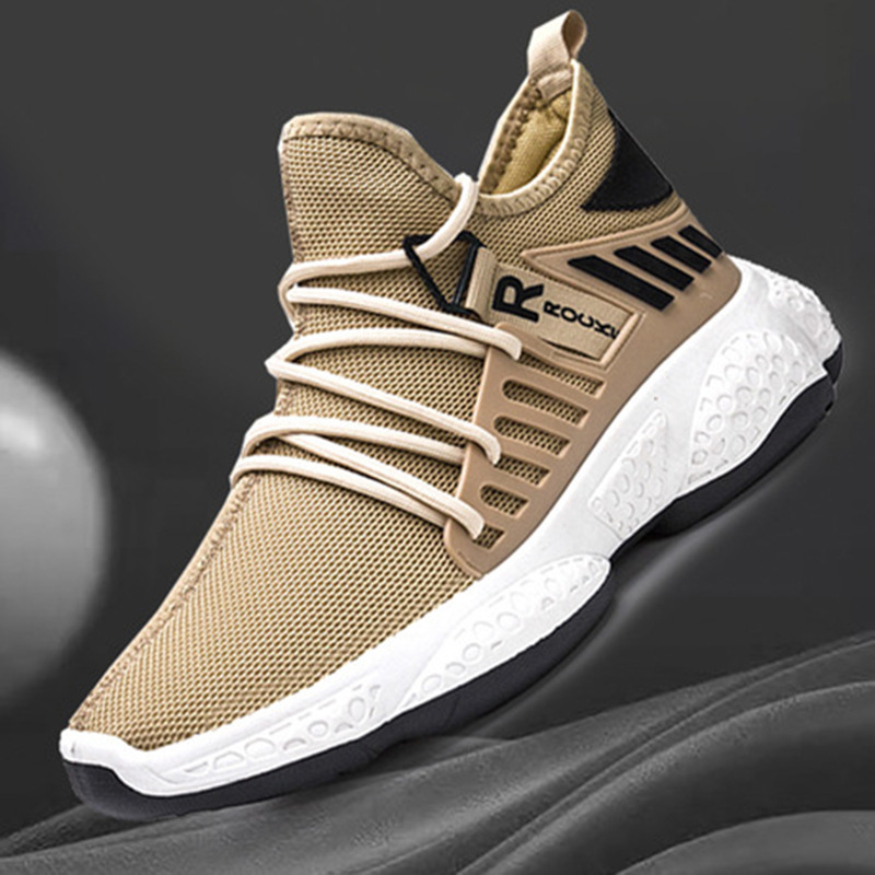 Running Shoes Breathable Outdoor Male Sports Shoes Lightweight Sneakers Anti-slid Comfortable Casual Shoes Athletic Trainers