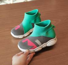 Child Casual Shoes 2019 Spring Fashion Girls Boys Sport Shoes Children Running Shoes Kids Martin Boots Child Sneakers 21-30(China)