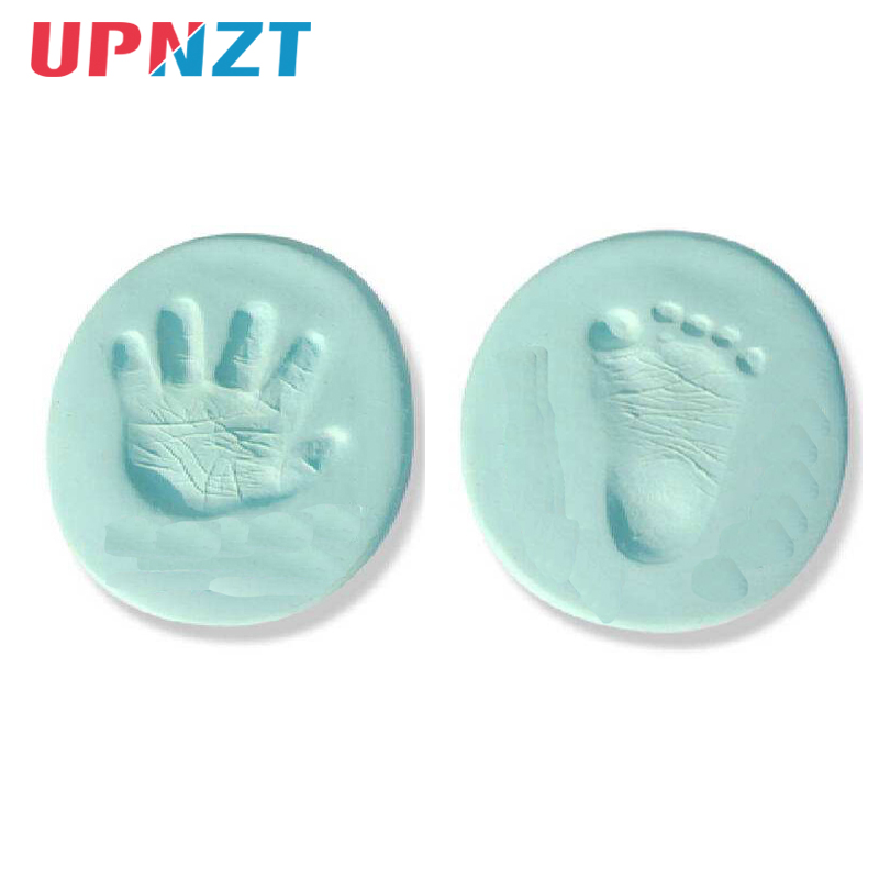 Baby Hand Foot Inkpad Air Drying Soft Clay Baby Handprint Footprint Imprint Kit Casting Parent-child Hand Inkpad DIY Toys 20g