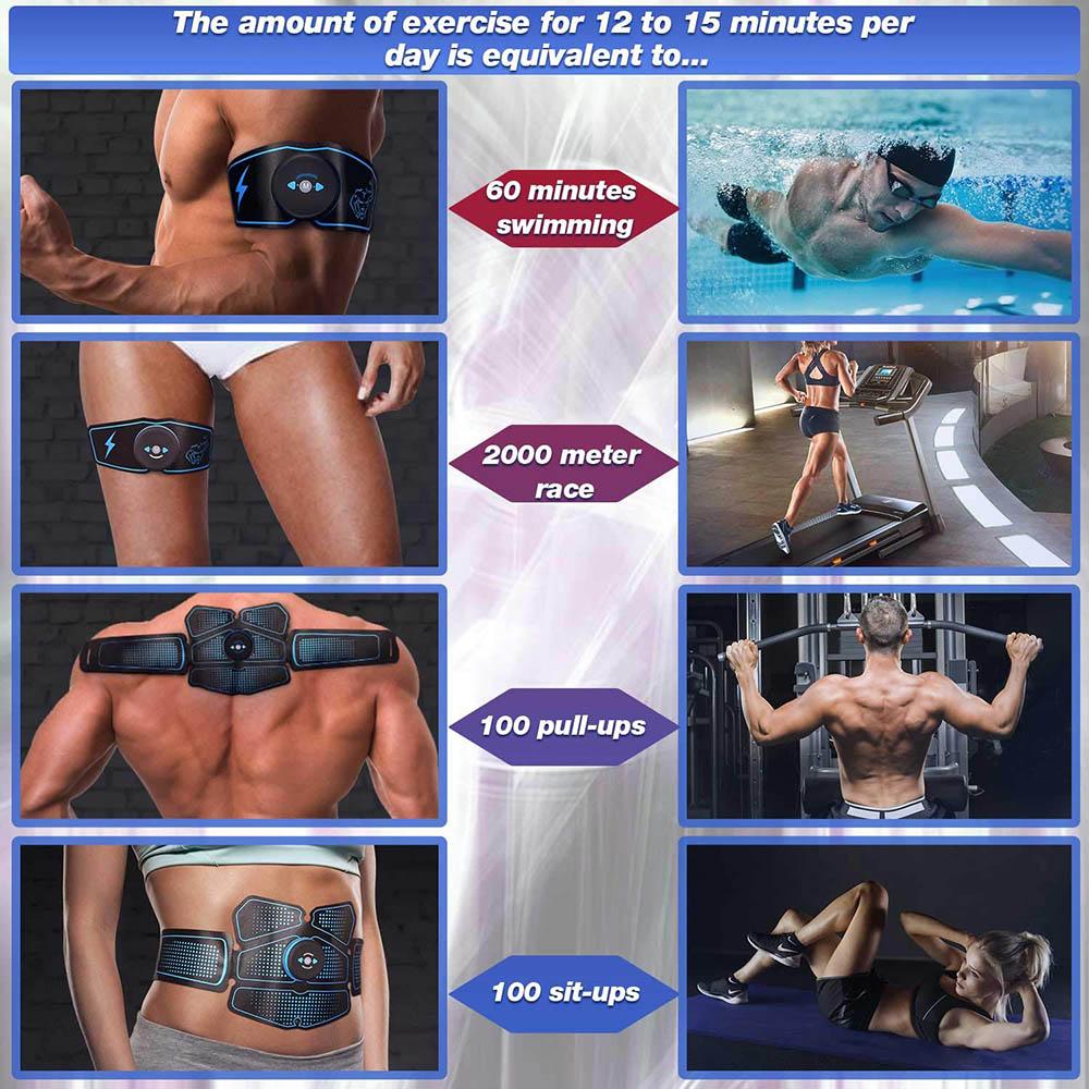 Որովայնի մկանների խթանիչ մարզիչ EMS abs - Ֆիթնես և բոդիբիլդինգ - Լուսանկար 5