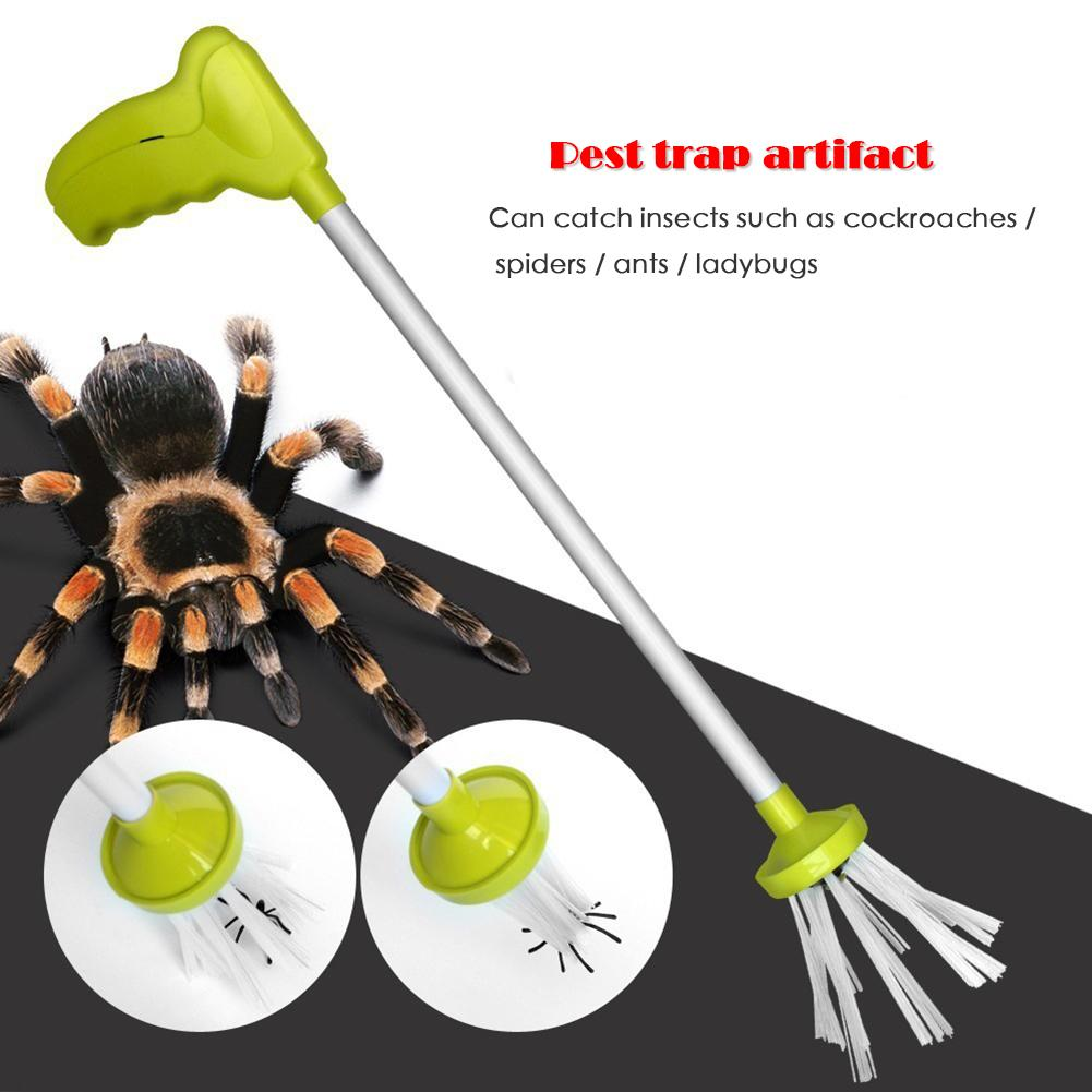 Practical Outdoor Indoor Bug Catcher Spider Crickets Practical Insect Grabber Bug Trap Necessary Garden Catching Pests Supplies