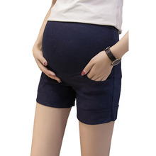 Шорты для беременных, штаны для беременных, женская одежда для беременных, повседневные шорты с эластичной резинкой на талии, штаны для беременных, одежда для мам