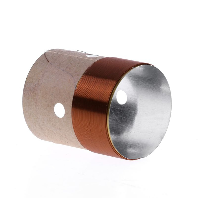 1pcs New 25.5mm 8 Ohm Core Round Brass Wire Woofer Voice Coil Aluminum For Speaker Repair