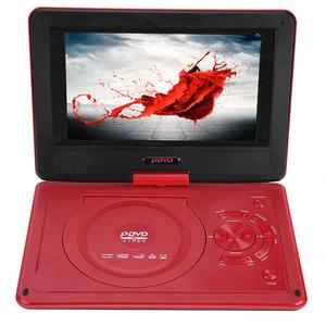 Image 4 - 9.8 Inch Draagbare High Definition Swivel Screen Auto Dvd speler Vcd Cd Avi Eu Plug