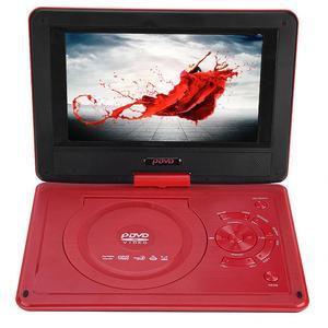 Image 4 - 9.8 Inch Portable High definition  Swivel Screen Car DVD Player VCD CD AVI EU Plug