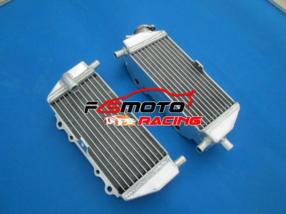 Алюминиевый радиатор с левой и правой стороны для Kawasaki KX125 KX250 KX 125/250 1994 - 2005 L1-4/M3/M2 2004 2002 2001 2000 99 98 97 96