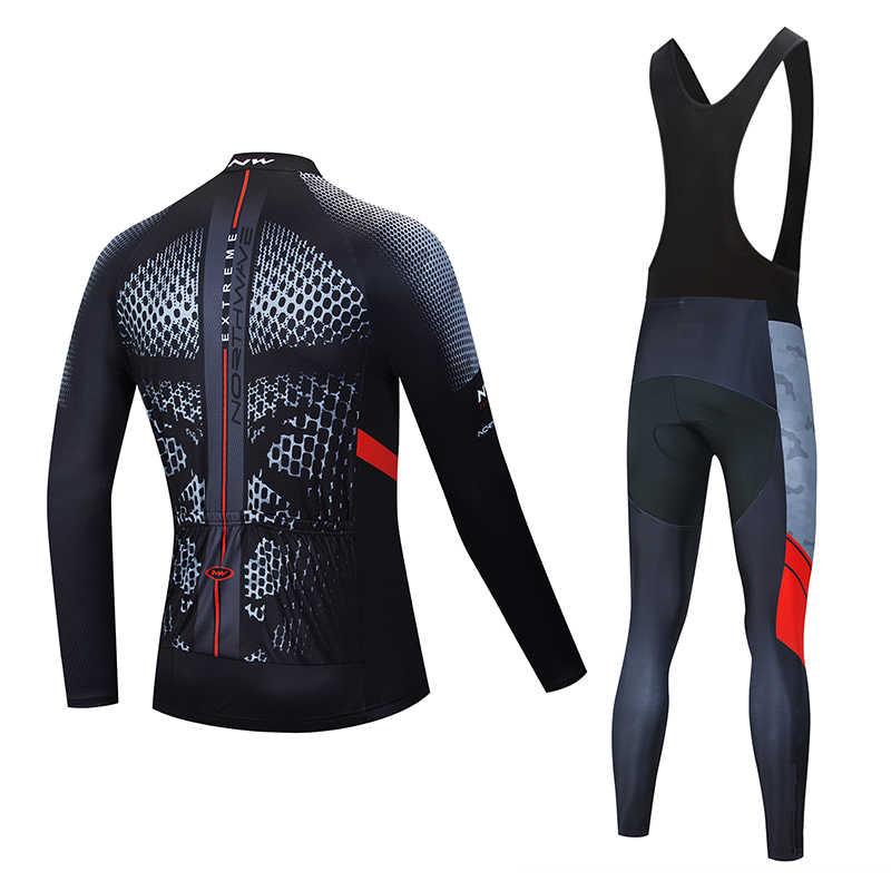 2019NW herbst und winter warm radfahren anzug Herbst und Winter mountainbike reiten anzug fahrrad anzug sportswear
