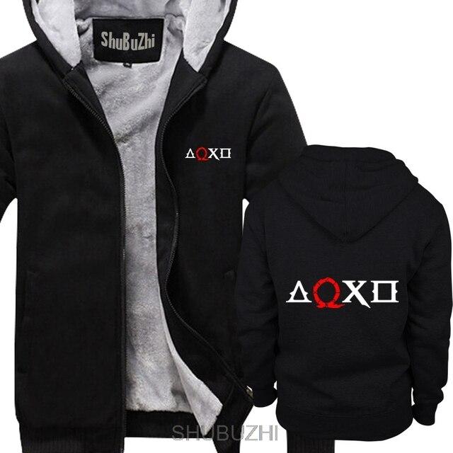 God Of War วิดีโอเกม Gamer GAMING ฤดูหนาวตลก hoodies หนาเสื้อวันเกิดของขวัญ Cool สบายๆ hoodies เสื้อผู้ชาย sbz4523