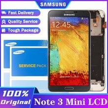 100% מקורי דינמי AMOLED LCD תצוגת מסך מגע Digitizer לסמסונג גלקסי NOTE3 מיני Note3 Neo N7505 תיקון חלקים