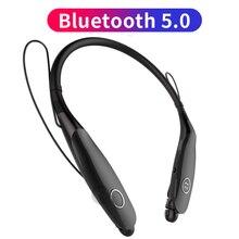 Sport Bluetooth V 5.0 Hoofdtelefoon Draadloze Koptelefoon Magnetische Oordopjes IPX4 Tws Voor Iphone 11 Pro Xr Xs Max 6 7 8 X Verbeterde Versie