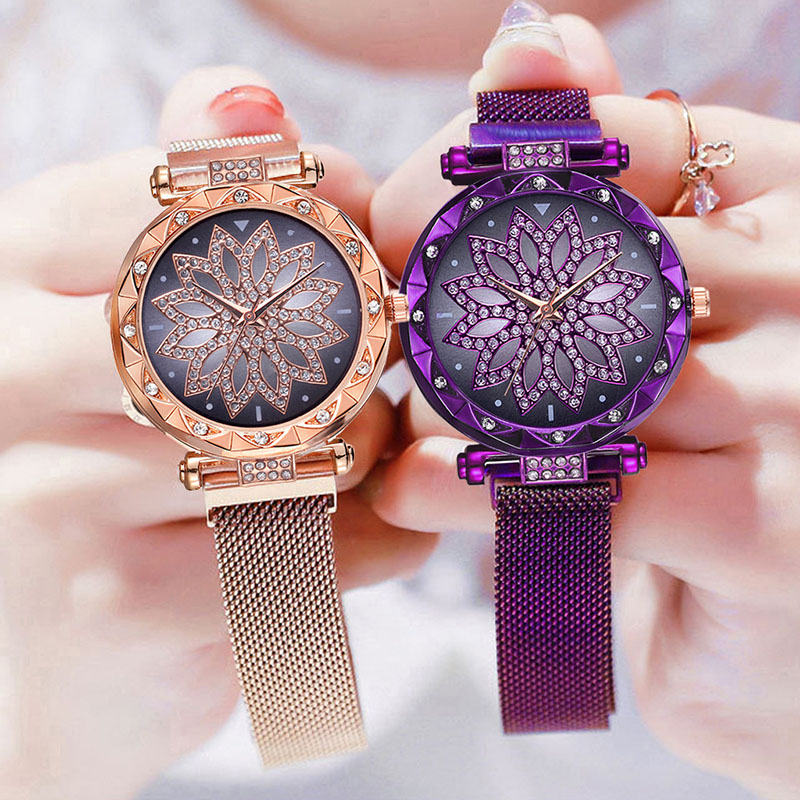 Women Watches Woman 2019 Top Luxury Brand Crystal Fashion Watches Clock Quartz Ladies Wrist Watches For Women Relogio Feminino