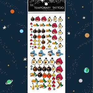 Image 4 - 500 PCS /lot Waterproof Temporary Tattoos Tattoo Kids Tatoo Sticker Girls Sleeves Body for Fake Water Children Tattos Stickers