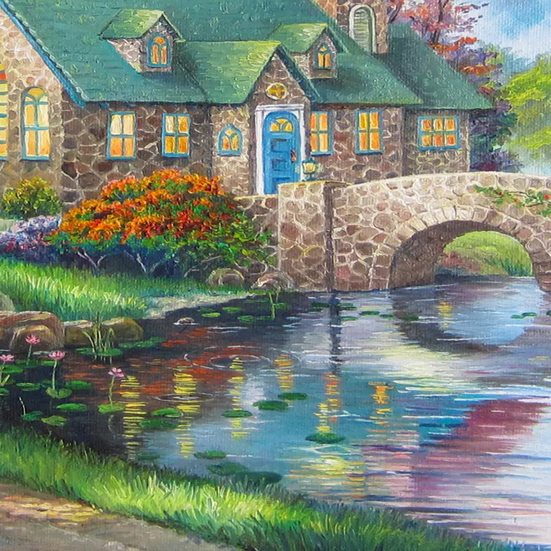 Custom-Photo-Wallpaper-European-Style-3D-Country-Bridge-Forest-Murals-Living-Room-TV-Sofa-Study-Background (4)